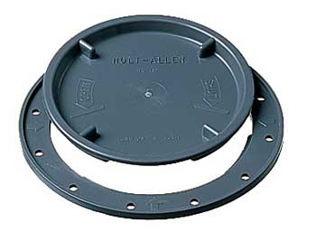 10 Grey Inspection Hatch Cover 102mm