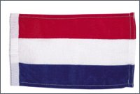 Bunting flag, Netherlands, 30 x 23 cm