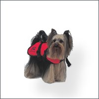 Dog flotation vests,  typeYorkshire, size X-Small
