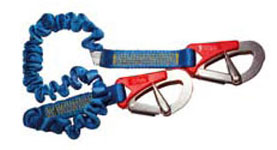 Elasticated safety line