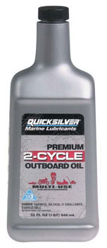 premium 2-cycle outboard oil