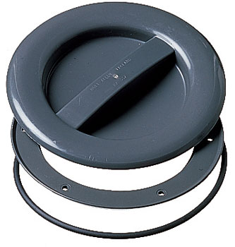 10 Small Grey O ring Hatch Cover 102mm