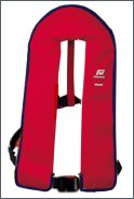 Pilot 1 lifejacket, without harness, automatic, red  cover