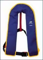 Pilot 1 lifejacket, without harness, automatic, navy cover