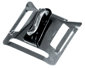 Trapeze Harness Buckle with Strap Adjusters