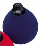 Spherical fenders socks, navy blue, for fenders  29 cm
