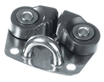 Alloy Dinghy Cam Cleat with Base Fairlead