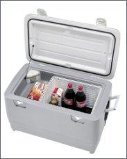 Electrical ice chest, 50 L /  12-24 Volts