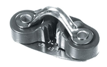Alloy Jam Cleat with Fairlead