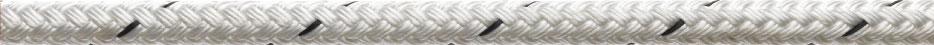 16 plait white