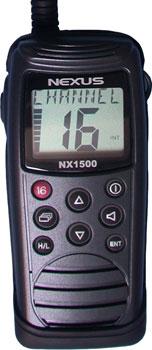 nexus handheld VHF radio