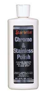 chrome stainless steel polish