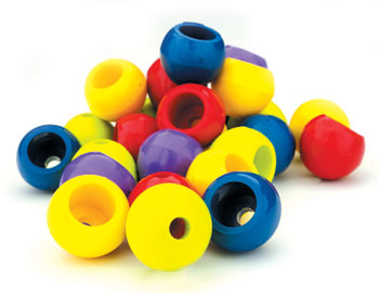 2 Ball Stopper - Grey 4mm