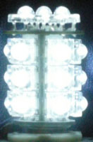 White Navigation Light