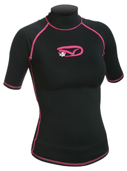 Rashguards Ladies Swami Short Sleeved