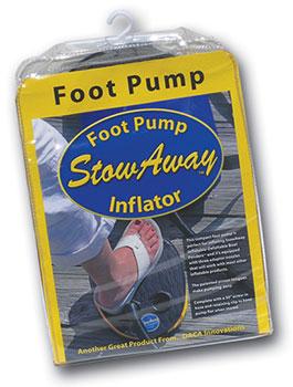StowAway Foot Pump