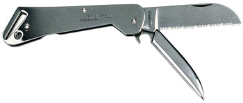 Stainless steel clipper knife