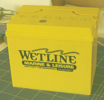 Wetline battery