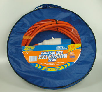 Power extension 25m