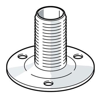 nylon flange mount