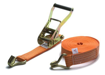heavy duty ratchet strap with hooks